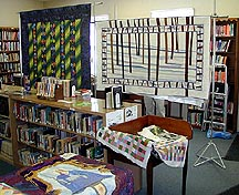 Quilt Exhibit at the Nassau Library