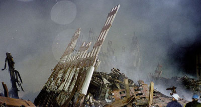 Photos taken at the WTC by Ron Goodman